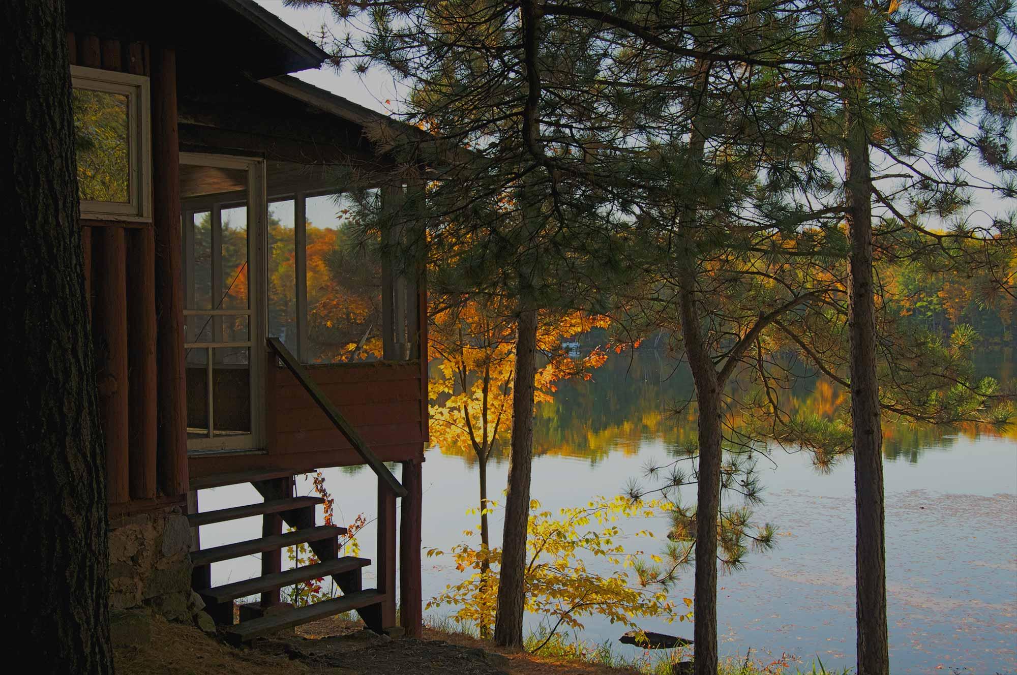 Minnesota and wisconsin lake cabin loans lake cabins and for Minnesota lake cabin for sale